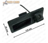 Камера заднего вида Pleervox PLV-CAM-AU01 для AUDI A3 / A4 / A5 / Q3 / Q5 (в ручку двери багажника)