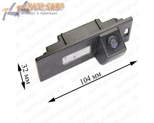 Камера заднего вида Pleervox PLV-CAM-BW03 для BMW 1 hatchback / 6 / Z4
