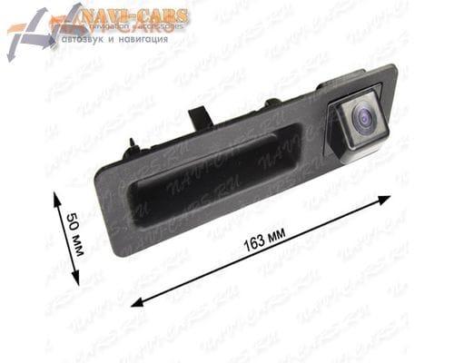 Камера заднего вида Pleervox PLV-CAM-BW02 для BMW 5 / 3 / X3 (в ручку багажника)