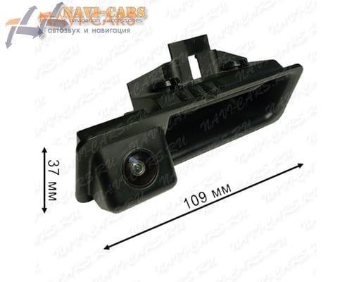 Камера заднего вида Pleervox PLV-CAM-BW01 для BMW 1 coupe / 3 / 5 / X1 / X5 / X6 (в ручку багажника)