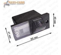 Камера заднего вида Pleervox PLV-CAM-HYN04 для Hyundai H1 Starex