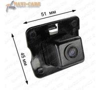 Камера заднего вида Pleervox PLV-CAM-MB10 для Mercedes R (251) / GL (X164)