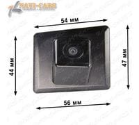 Камера заднего вида Pleervox PLV-CAM-MB07 для Mercedes GLK (X204)
