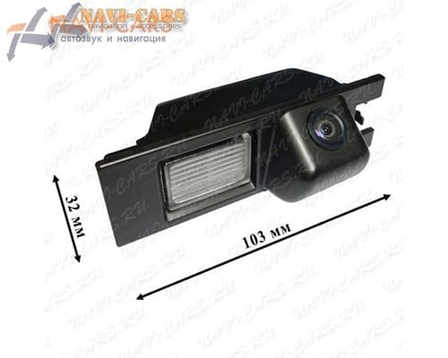 Камера заднего вида Pleervox PLV-CAM-OPL для Opel Vectra / Astra / Zafira
