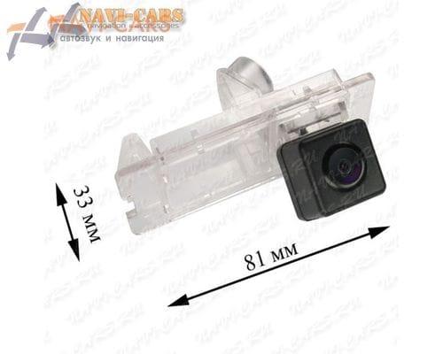 Камера заднего вида Pleervox PLV-CAM-REN02 для Reno Laguna / Lattitude / Megane / Scenic / Fluence