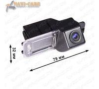 Камера заднего вида Pleervox PLV-CAM-VWG06 для Amarok / Golf 6 / Polo hatchback / Scirocco