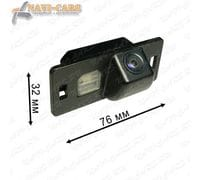 Камера заднего вида Pleervox PLV-CAM-VWG03 для Volkswagen Polo sedan / Touareg 2 / Touran / Jetta