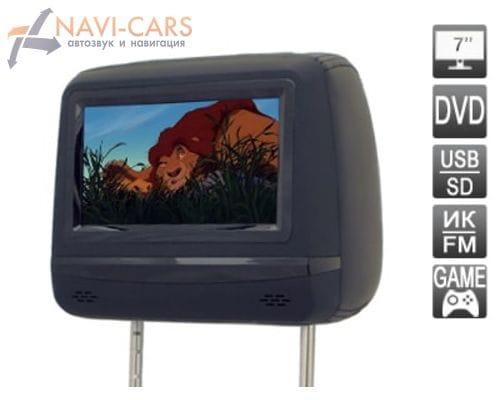 """Подголовник со встроенным DVD плеером и LCD монитором 7"""" AVIS AVS0745T"""