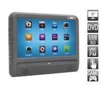 Навесной монитор на подголовник с диагональю 9 дюймов и встроенным DVD плеером AVIS AVS0933T