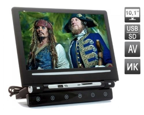 """Навесной монитор на подголовник с диагональю 10.1"""" и встроенным медиаплеером AVIS AVS1008MPP"""