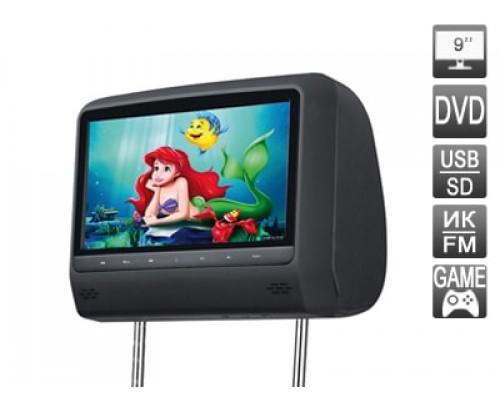 """Подголовник со встроенным DVD плеером и LCD монитором 9"""" AVIS AVS0943T"""