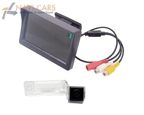Монитор 4.3 дюйма с камерой заднего вида Audi A3 (03-13), A4 (04-08), A6 (01-04), A8 (02-10), Allroad (01-04), Q7 (05-11)