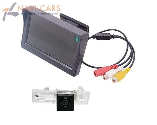 Монитор 4.3 дюйма с камерой заднего вида Audi A1, A4 (08+), A5 (08+), A7, Q3, Q5 (08+), TT (07-14), S6