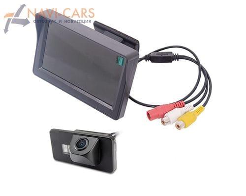 Монитор 4.3 дюйма с камерой заднего вида BMW 3, 5, 7, X1, X5, X6