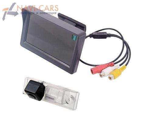 Монитор 4.3 дюйма с камерой заднего вида Chevrolet Aveo, Captiva, Cruze, Epica, Orlando, Lacetti, Lova