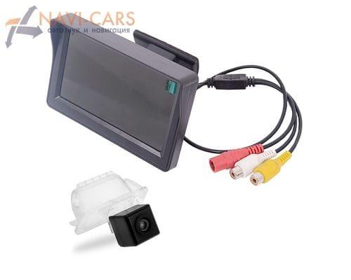 Монитор 4.3 дюйма с камерой заднего вида Ford Focus 2 хэтчбек, Mondeo 4, Kuga, Fiesta, S-Max