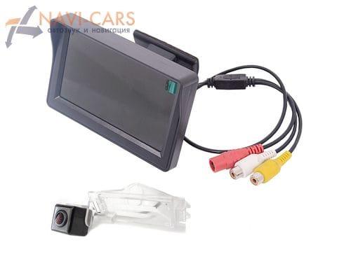 Монитор 4.3 дюйма с камерой заднего вида Dodge Caliber, Grand Caravan 5