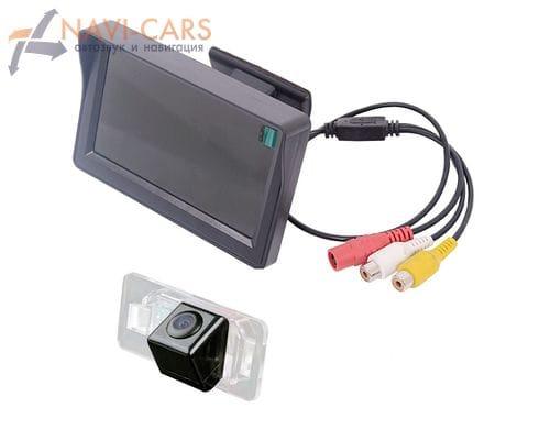 Монитор 4.3 дюйма с камерой заднего вида BMW 3, 5, X5, X6
