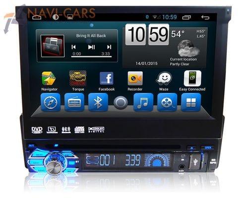 Магнитола 1 din Android 6 CarMedia QR-7123