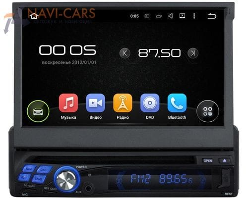 Магнитола 1 din Android 5 CarMedia KD-8600