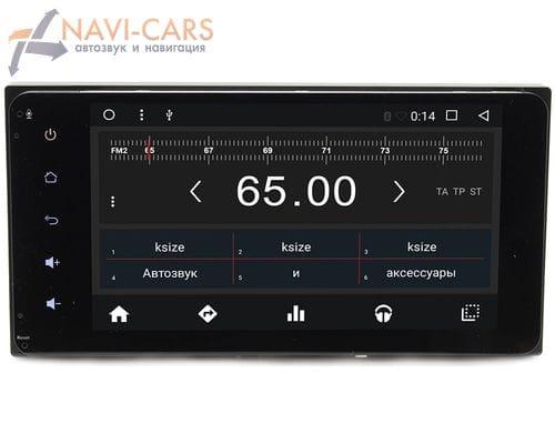 Штатная 2 din магнитола Toyota (10х20см) Android 6 (Wide Media WM-CF3048MA)