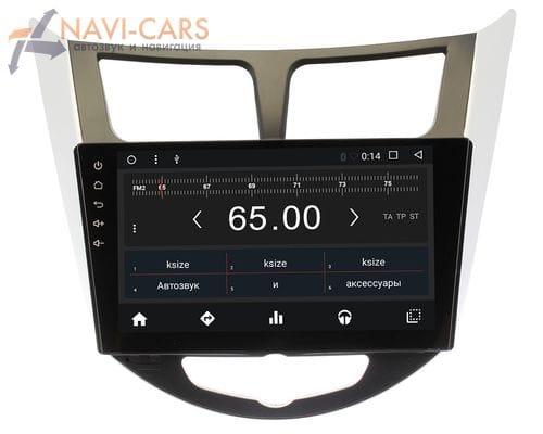 Штатная магнитола Hyundai Solaris Android 6 (Wide Media WM-CF3005MA)