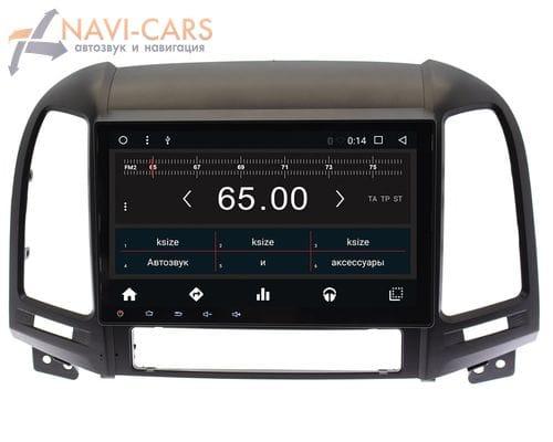 Штатная магнитола Hyundai Santa Fe 2 Android 6 (Wide Media WM-CF3075MA)