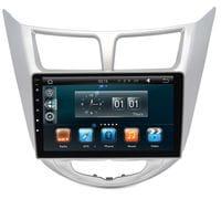 Штатная магнитола Hyundai Solaris Android 4.4 (Wide Media WM-MFB021)