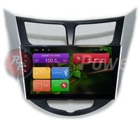 Штатная магнитола Hyundai Solaris Android 6 (Redpower 21067BIPS)