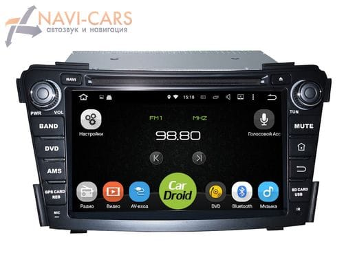 Roximo CarDroid RD-2005D Hyundai i40 (Android 9.1) DSP
