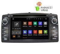 Штатная магнитола Toyota Corolla (e120) Android 5 (LeTrun 1646)