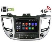 Штатная магнитола Hyundai Tucson 3 Android 6 (LeTrun 1689)