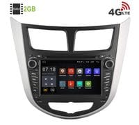 Штатная магнитола Hyundai Solaris Android 6 (LeTrun 1556)