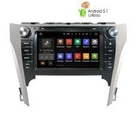 Штатная магнитола Toyota Camry v50 Android 5 (LeTrun 1643)