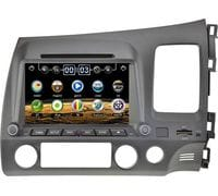Штатная магнитола Honda Civic 8 4d (правый руль) WinCE (LeTrun 0314)