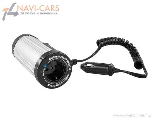 Автомобильный инвертор NEOLINE 200W