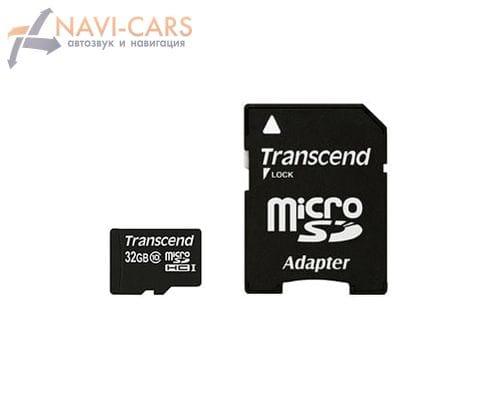 Карта памяти Transcend microSD 32gb