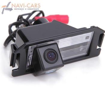 Камера заднего вида Hyundai i30 (12+), i10, i20, Coupe, Genesis Coupe, Veloster / KIA Picanto (04-11), Soul (09-13) (cam-086)