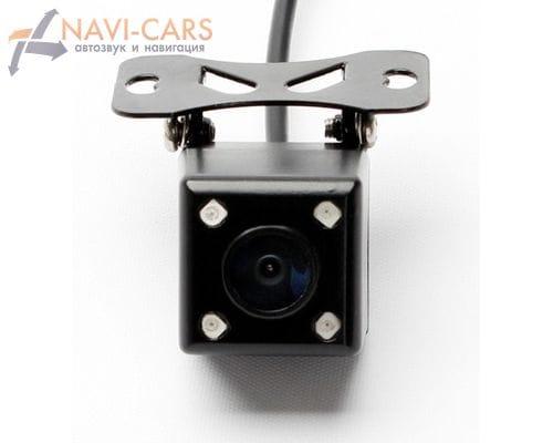 Универсальная камера заднего вида кубик со светодиодной (LED) подсветкой 140 градусов с отключаемой разметкой
