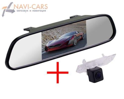Зеркало c камерой заднего вида Ford Focus 2 седан, C-Max, Mondeo