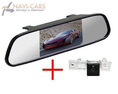 Зеркало c камерой заднего вида Audi A1, A4 (b8), A5, A7, Q3, Q5, TT, S6