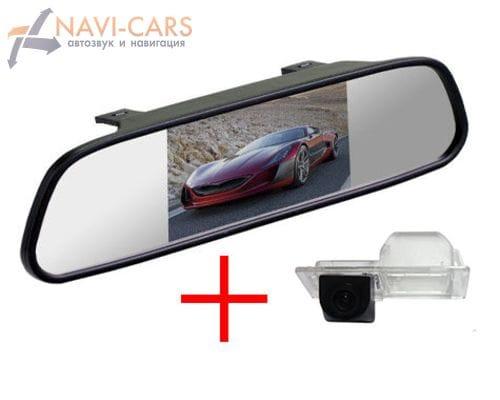 Зеркало c камерой заднего вида Chevrolet Aveo 2, Opel Mokka, Astra J, Cruze 12+ хэтчбек, Trailblazer