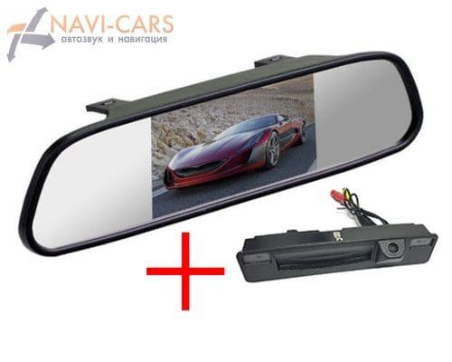 Зеркало c камерой заднего вида Ford Focus 3 (14+) в ручку багажника