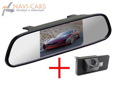 Зеркало c камерой заднего вида BMW 3, 5, 7, X1, X5, X6